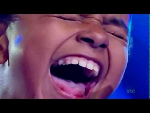 Cậu bé có giọng hát hay nhất mình từng nghe....jotta A - brazil got talent 2011.
