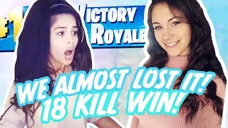 HACKING LLAMAS. High Kill Girl Duos with AlexiaRaye! - Valkyrae Fortnite HIghlights