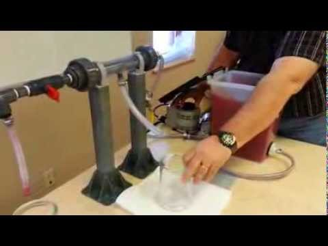 Water Membrane, Water Filtration / Filter Demonstration