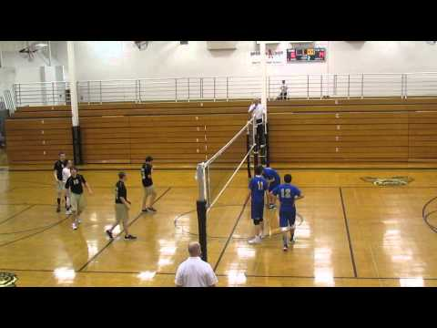 oak forest high school - illinois VS joliet central ( JV volleyball 2015 )