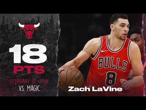 Zach LaVine vs. Magic 2.12.18 - full game highlights
