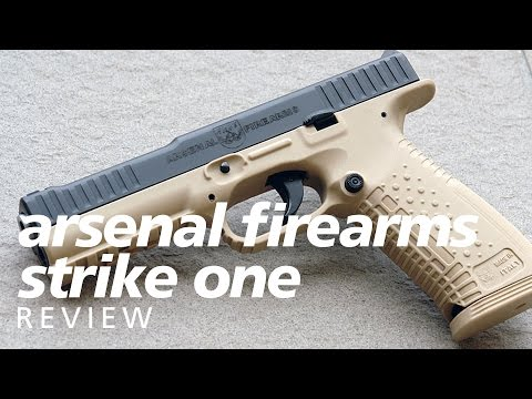 Review: Arsenal Firearms AF1 Strike One - a Russian Glock-beater?