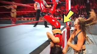 WWE में जब पब्लिक के सामने हो गयी ऐसी शर्मनाक गलती | Deleted Moments WWE Doesn't Want Fans To See