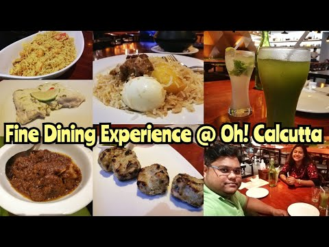 Oh! Calcutta post lockdown | Birthday Dinner | Kolkata Restaurants | Vlog 01