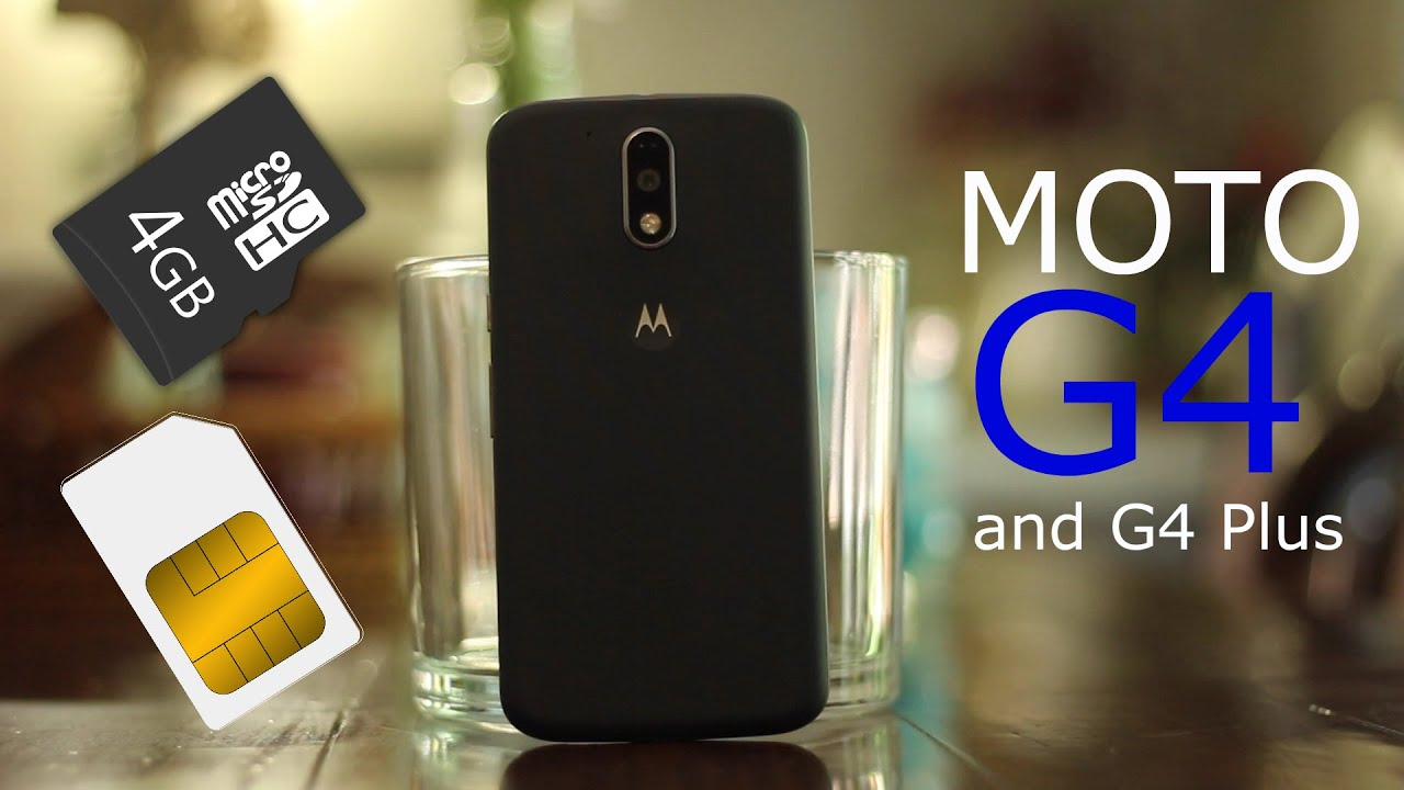 how to insert sim  sd card to moto g4    g4 plus