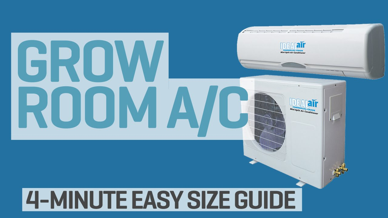 What Size Air Conditioner Do I Need For My Grow Room Youtube