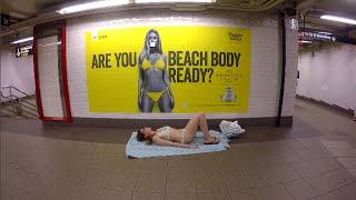 Walking around NYC in my bikini - Day 72