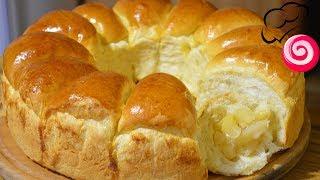 Булочки с яблоками Дрожжевое тесто на кефире (йогурте)