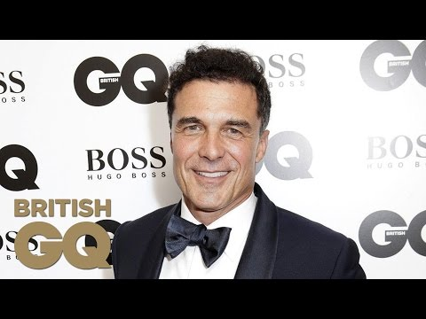 André Balazs Accepts Entrepreneur Of The Year Award  Men Of The Year Awards 2014  British GQ