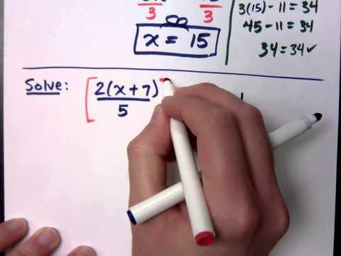 Col Alge Linear Equations How To