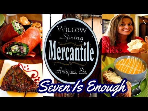 Where To Eat in Excelsior Springs Mo! Willow Spring Mercantile Restaurant Review