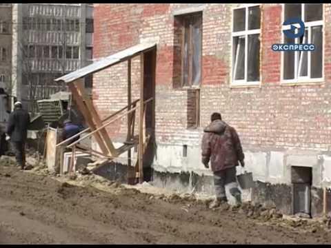 В Кузнецке возвели стены второго корпуса школы №5