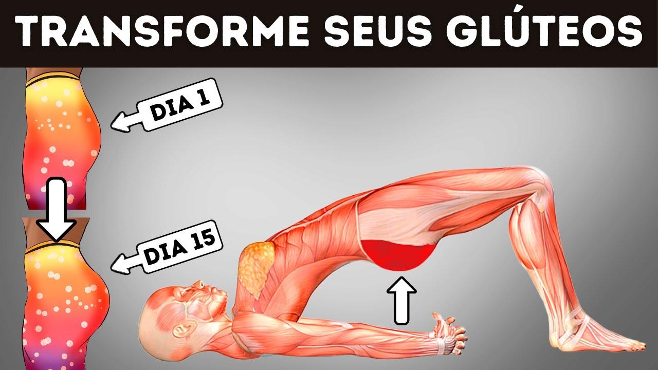 4 Exercícios Fáceis Para Aumentar Seus Glúteos Rapidinho (15 DIAS)