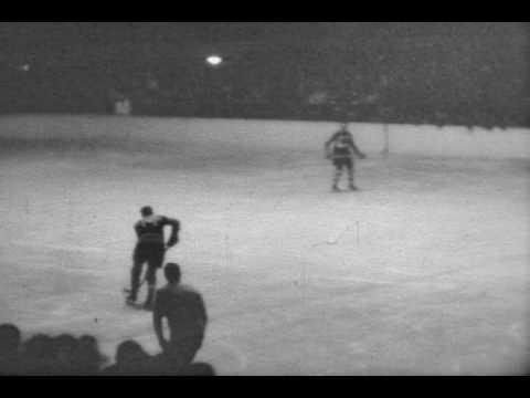 1929 Chicago Blackhawks (or Shamrocks) Hockey (Home Movies)