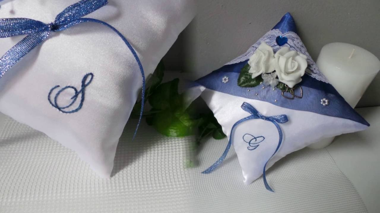 Coussin Alliance Mariage Les Duos