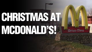 McDonald's is Closed on Christmas!