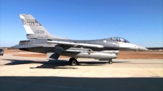 National Guard F-16 Fighting Falcons