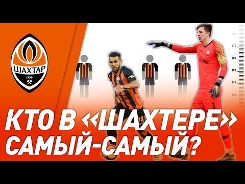 FC Shakhtar Donetsk: Кто самый высокий и легкий в Шахтере? У кого самый большой размер обуви?