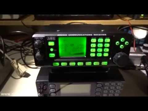 AOR 8600DX (MKII) vs Tecsun PL-660 - Kurzwelle/shortwave Radio Havana Cuba