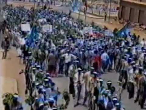 Eritrea, Martyrs Day 1991 Asmera. Documentary in Tigrina
