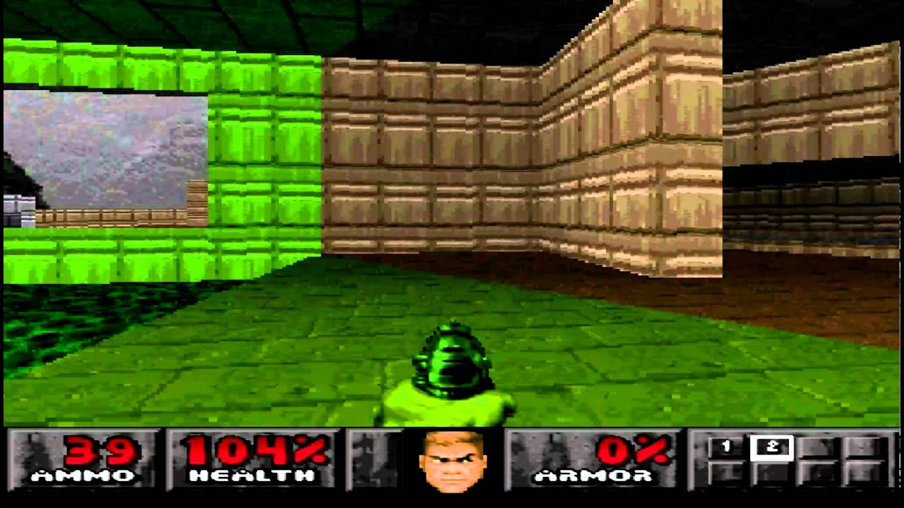 Doom Ps1 Gameplay