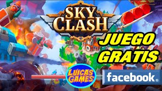 Sky Clash Lords of Clans 3D Juego similar a Clash of Clans Gratis Android, IOS, PC, Steam y Facebook