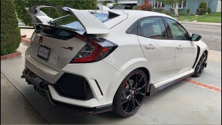 I purchased the craziest Honda ever, the 2019 Civic Type R and a new (to me) daily driver!!!