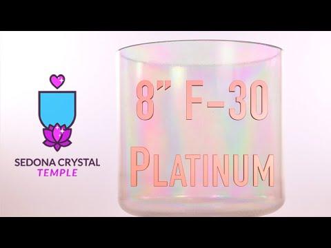 Crystal Tones™  Platinum Singing Bowl | asmr | holistic healing