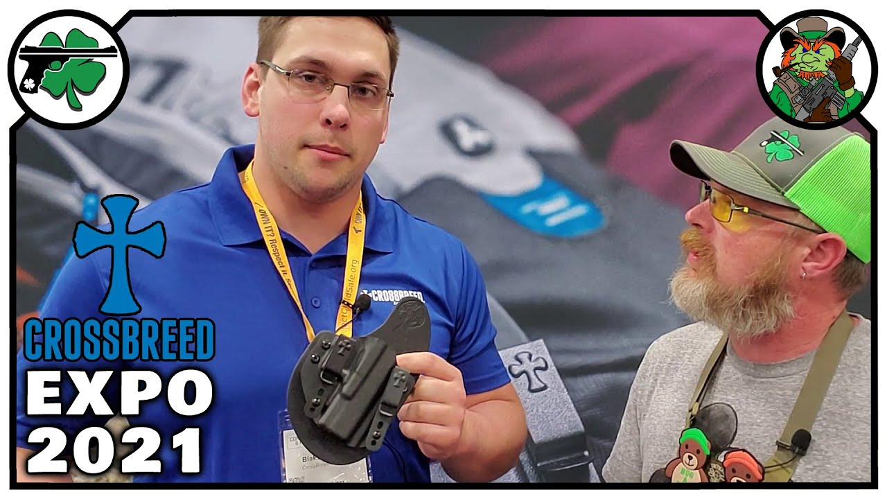 The BEST Crossbreed Holster For EDC - Concealed Carry & Home Defense Expo 2021