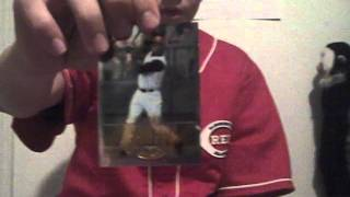 Baseball Card Talk Episode 7: Cincinnati Reds Collecting