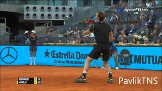 Kei Nishikori vs Andy Murray 1 2 Highlights HD Madrid Open 2015