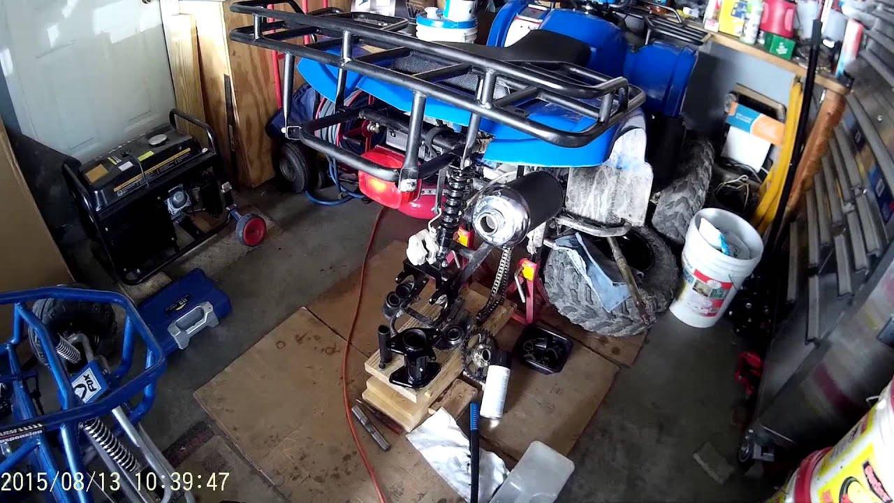 Taotao 150cc atv, how I fixed ours