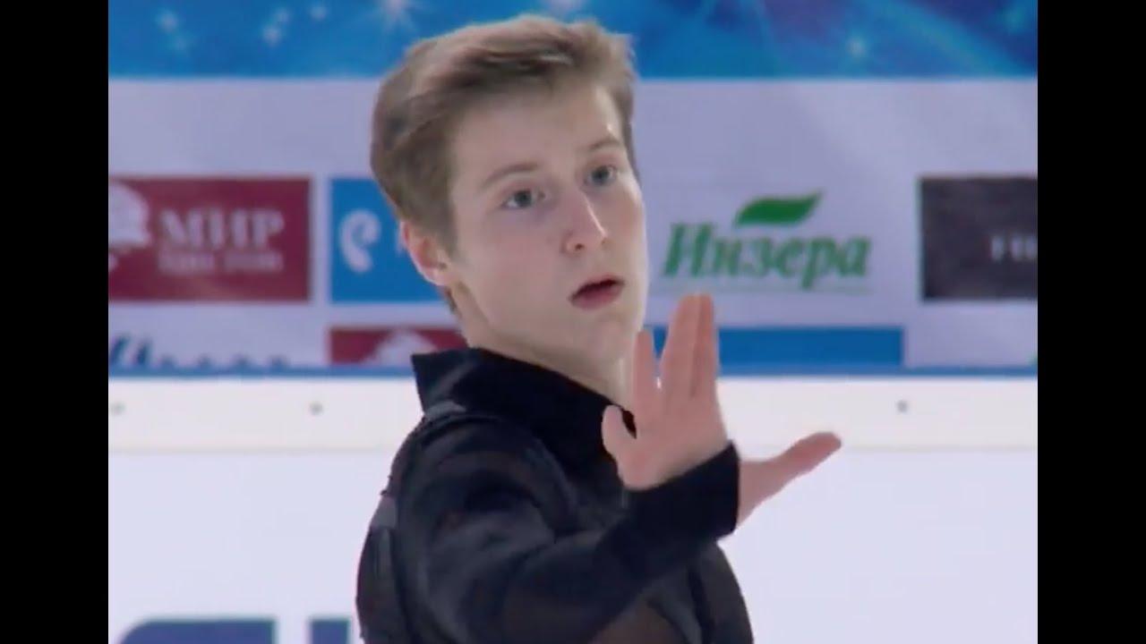 Alexander Samarin 2016 ISU Junior Grand Prix Saransk Men Free Skate Alexander