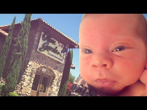 BABY IN OLIVE GARDEN (8.12.13 - Day 199)