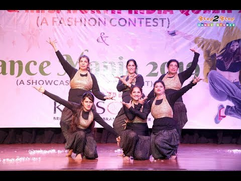 Namo Namo | Cham Cham | Lehanga | Dance Performance By Step2Step Dance Studio | Dance Mania 2019