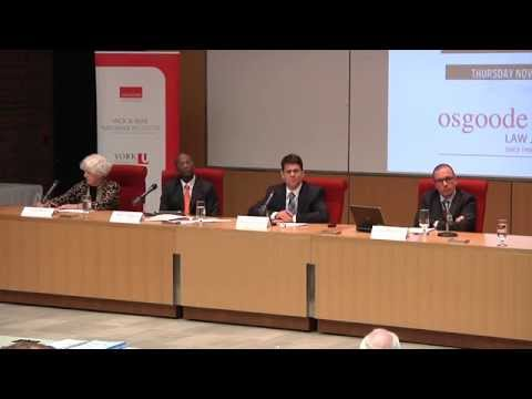 Nathanson Centre Conference on Public and Private Corruption - Panel 01 (Nov 6, 2014)