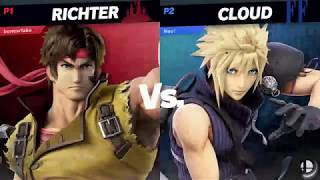 Square Up #2 Grand Finals: Yosefu (Richter) Vs. Magebreaker (Donkey Kong, Cloud)