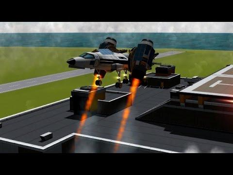 KSP - Stock Tilt Engine VTOL Experiment