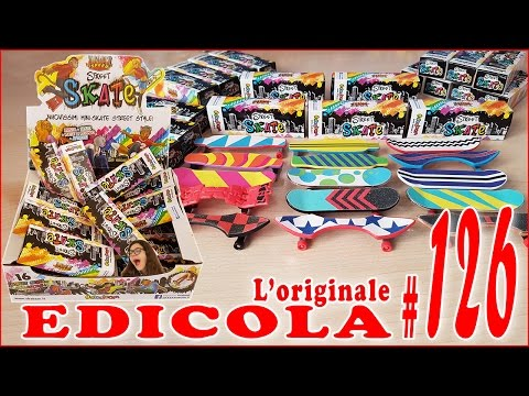 EDICOLA #126: Street SKATE Apriamo PACCO da 20 box (by Giulia Guerra)