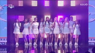 190628 IZONE - Intro+Airplane Music Bank Half-years