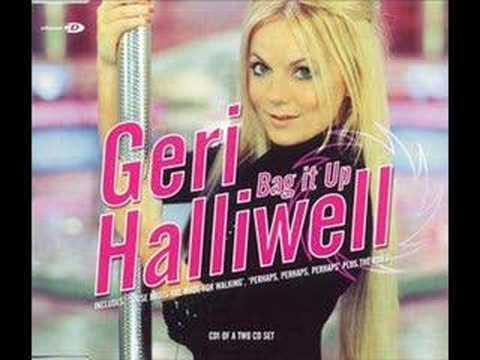 Geri halliwell bag it up karaoke