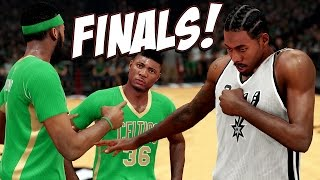 NBA 2K15 Boston MyGM #22 - Crushed By The San Antonio Spurs? Marcus Smart Under Pressure!