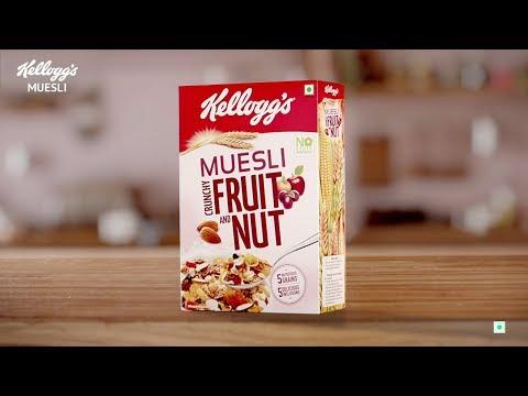 KELLOGGS MUESLI _ Breakfast for the Unstoppables!