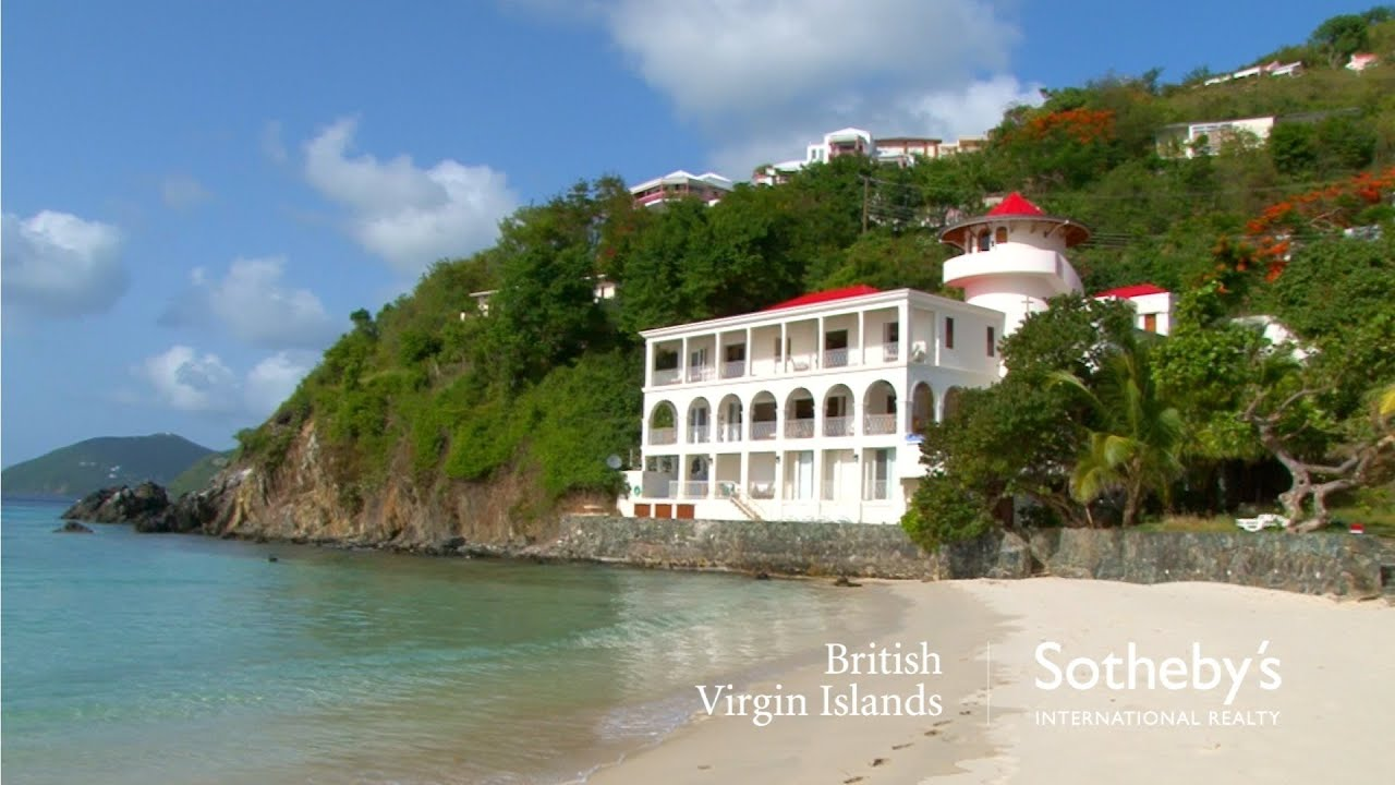 Sterling House Long Bay Beach Tortola British Virgin Islands Caribbean