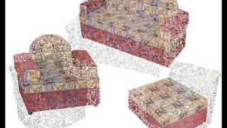 мягкая мебель для детского сада г. Хабаровск Омега(мебель для детских садов ООО