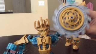 "Lego Bionicle set Ekimo ""The mask maker"""