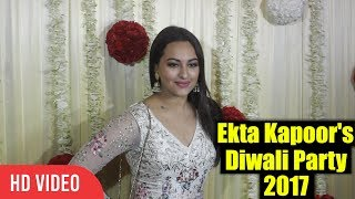 Sonakshi sinha at ekta kapoor's diwali party | diwali party celebration