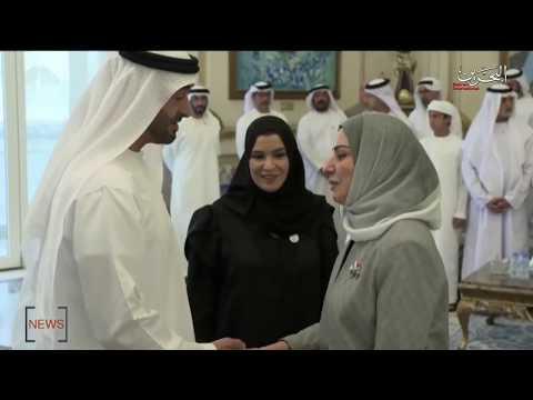 HH Sheikh Mohammed bin Zayed Al Nahyan received Reps. Council Speaker Fawzia bint Abdullah Zainal