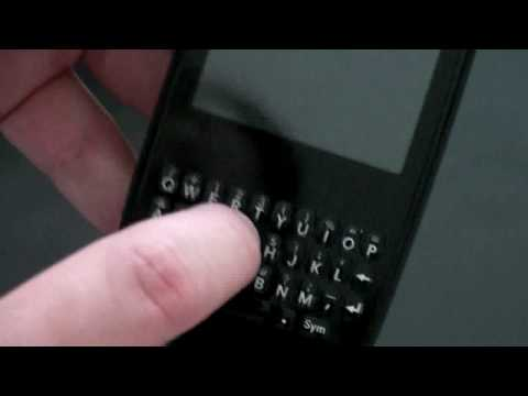 Palm Pixi: Keyboard