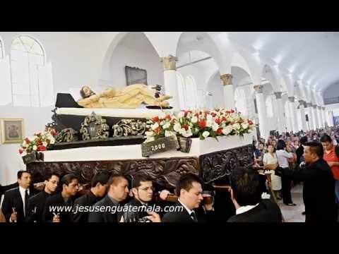 Procesión del XV Aniversario de Consagración, Señor Sepultado de Santa Catalina